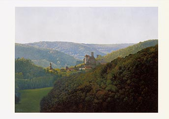 "Postcard: ""View of Hardegg"""